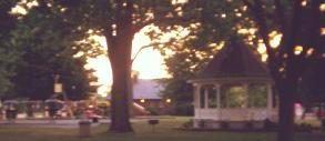 Gazebo in Belleville Michigan